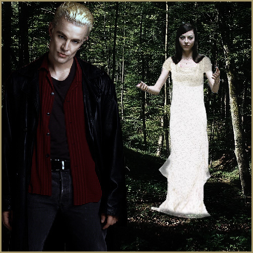 Spike and Drusilla in the Woods